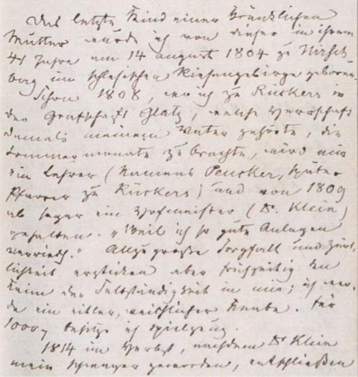 Tagebuchauszug von Rudolf Graf Stillfried-Alcántara (c) free