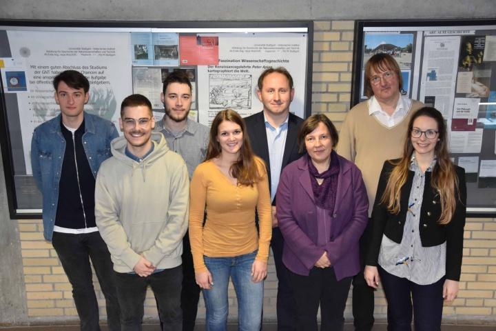 Gruppenfoto der GNT-Mitarbeitenden