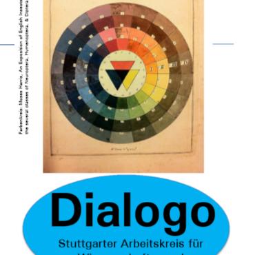 Dr. André Karliczek (Universität Jena): Farbtheorie und wissenschaftliche Erkenntnis  Dialogo-Flyer zum Vortrag vom 29.01.2019