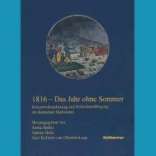 1816 - Das Jahr ohne Sommer. Titelblatt der Buchhandelsausgabe.