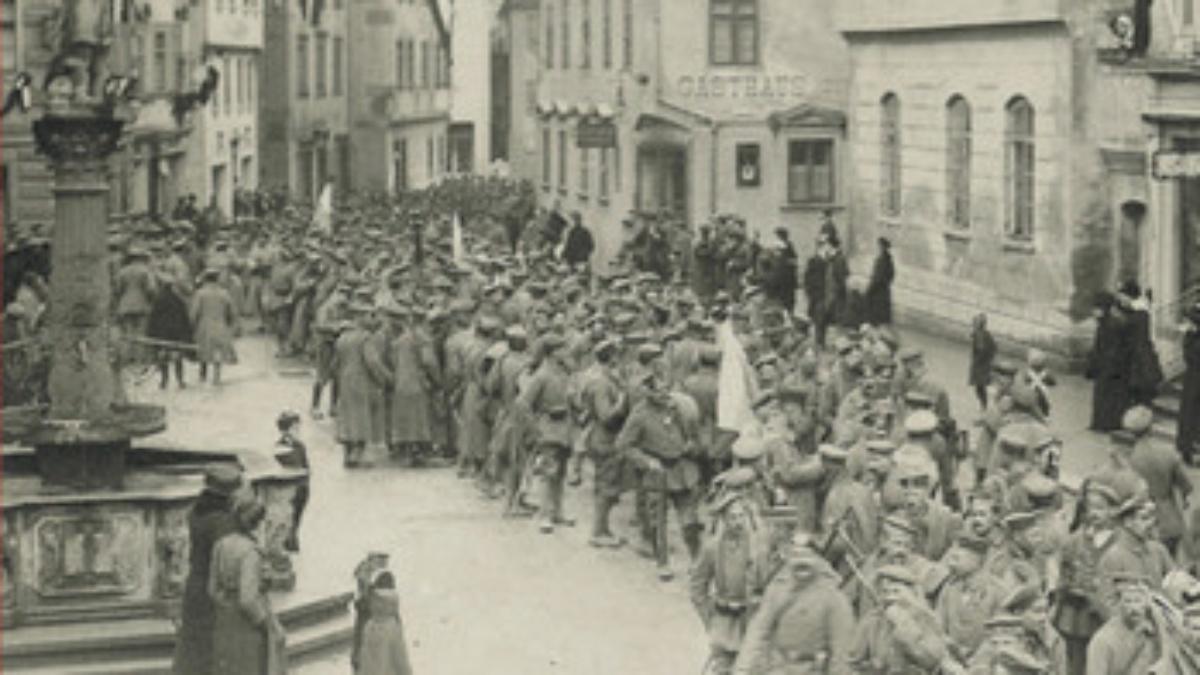 Stuttgart ca. 1919. (c) Kohlhammer Verlag, Stuttgart.