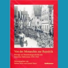 Von der Monarchie zur Republik. Titelblatt der Buchhandelsausgabe.