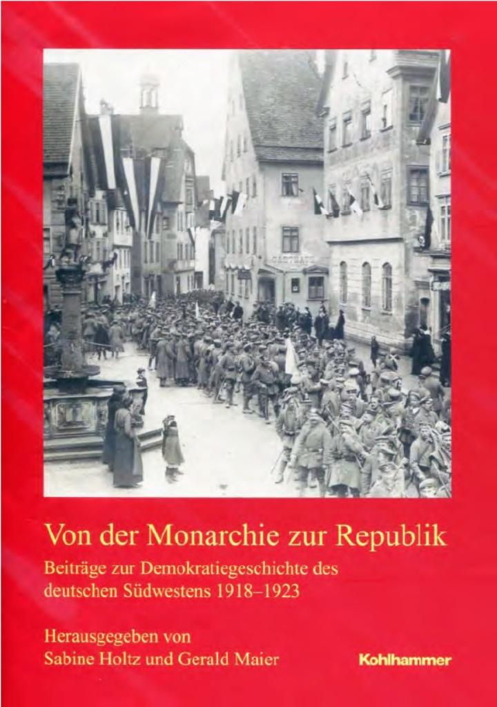 Von der Monarchie zur Republik. (c) Kohlhammer Verlag, Stuttgart.