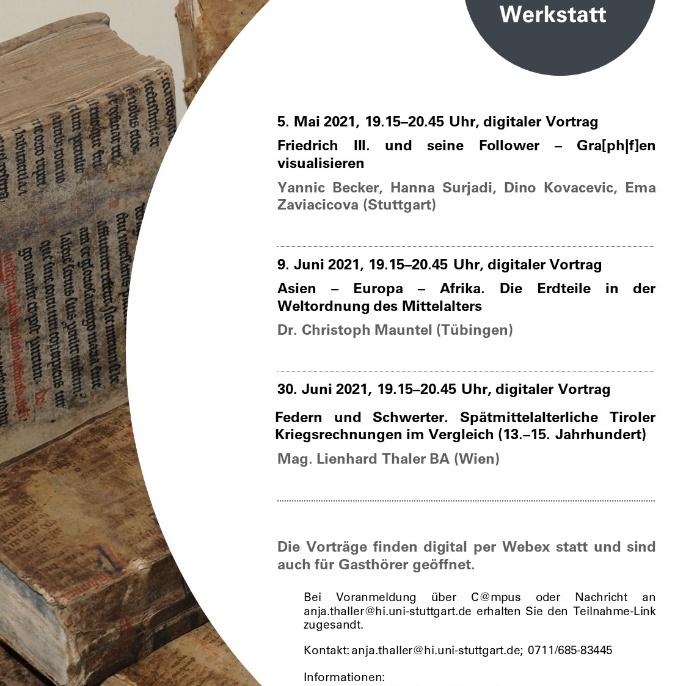 11. Stuttgarter Mittelalterwerkstatt_SS 2021