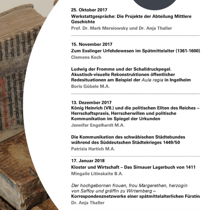 5. Stuttgarter Mittelalterwerkstatt WS 2017-18 neu