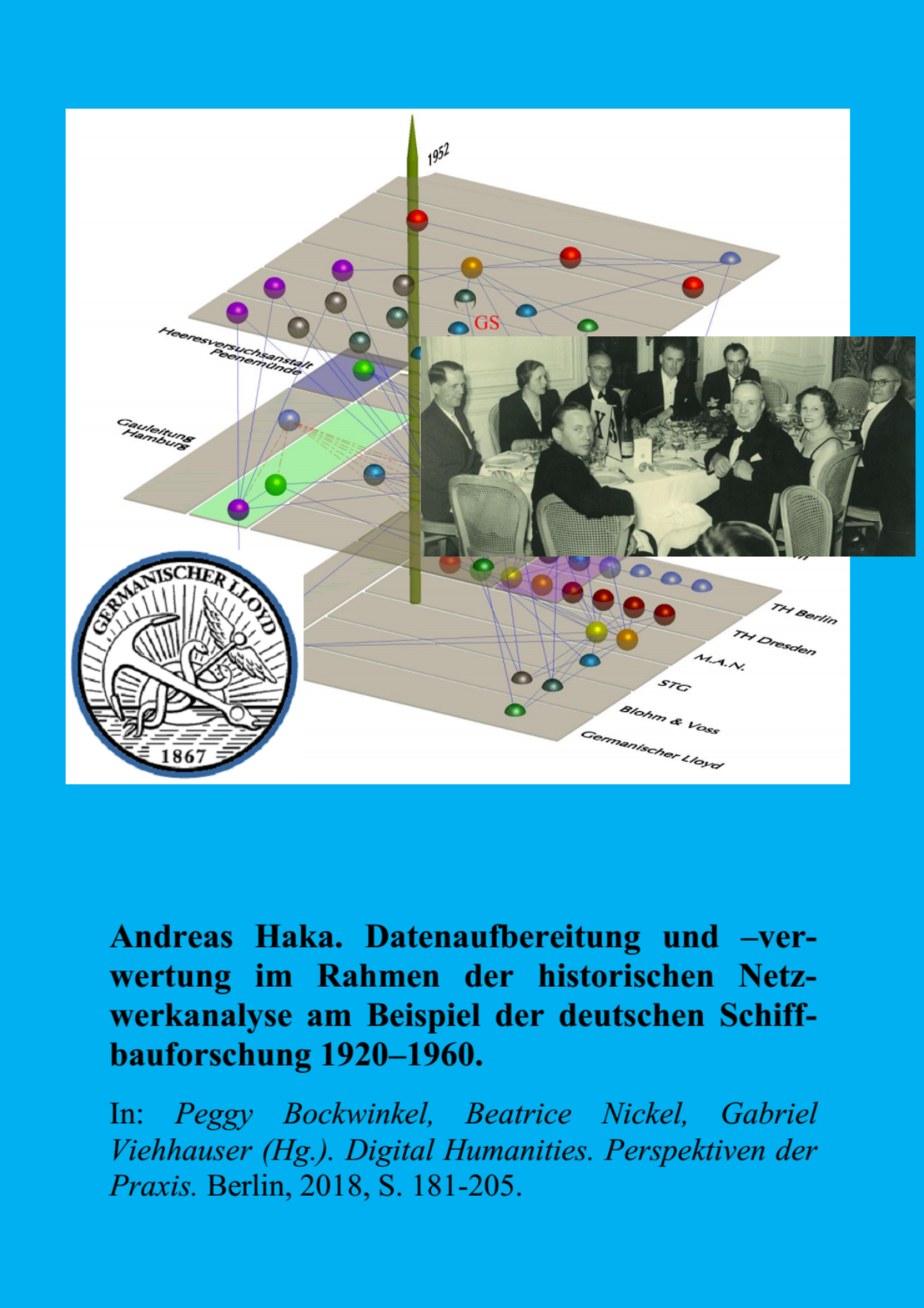 Datenaufbereitung und –verwertung im Rahmen der historischen Netzwerkanalyse am Beispiel der deutschen Schiffbauforschung 1920–1960.