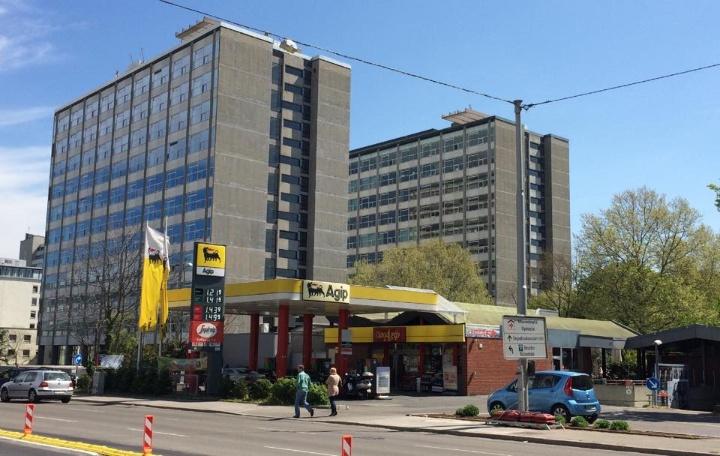 Bild der Tankstelle, Kriegsbergstraße, Stuttgart